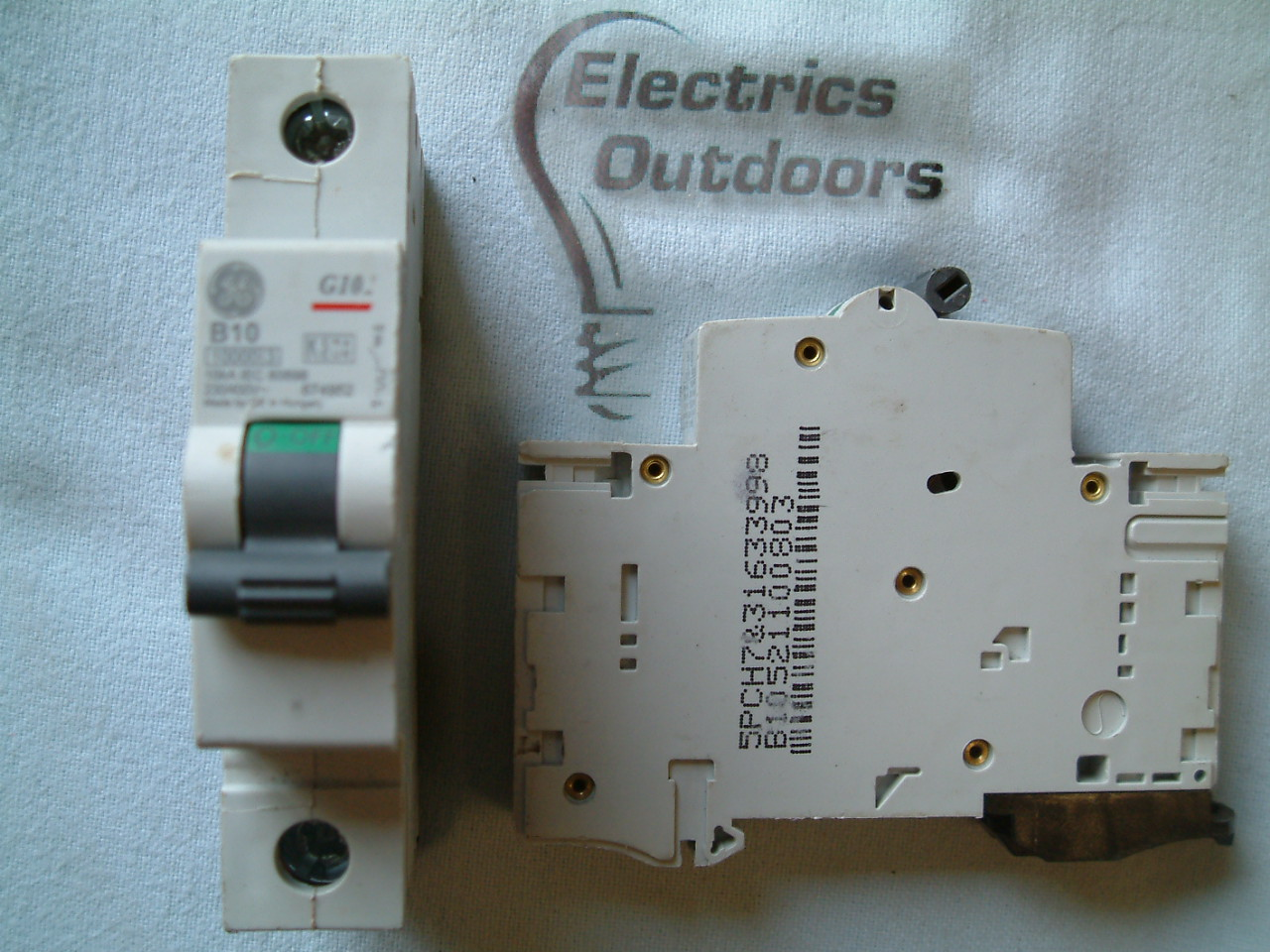 GE GENERAL ELECTRIC 10 AMP TYPE B MCB 10 KA 230V 400V G101 67495