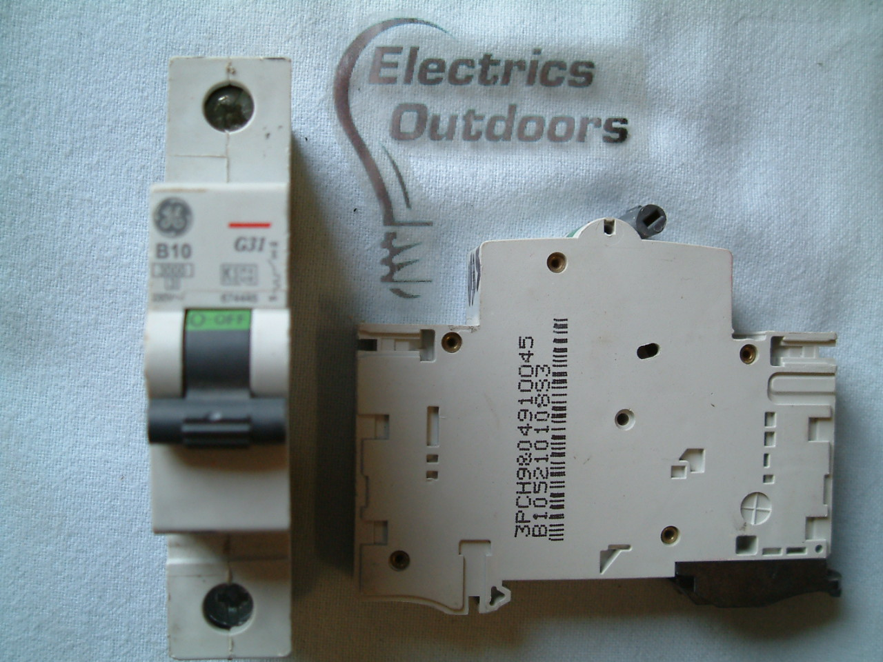 GE GENERAL ELECTRIC 10 AMP TYPE B 3 KA MCB CIRCUIT BREAKER 230V