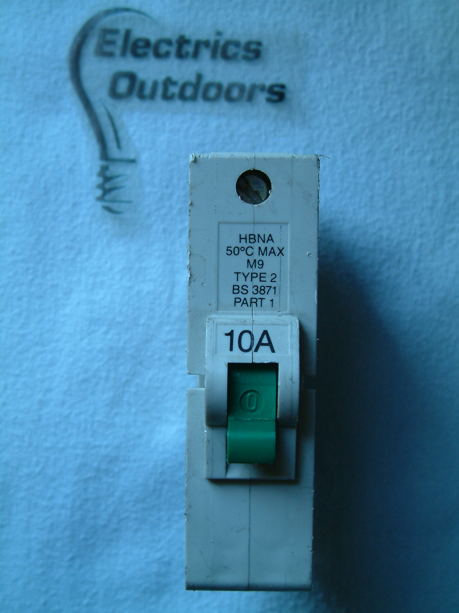 FEDERAL ELECTRIC 10 AMP TYPE 2 M9 MCB CIRCUIT BREAKER HBNA STABLOK BS 3871