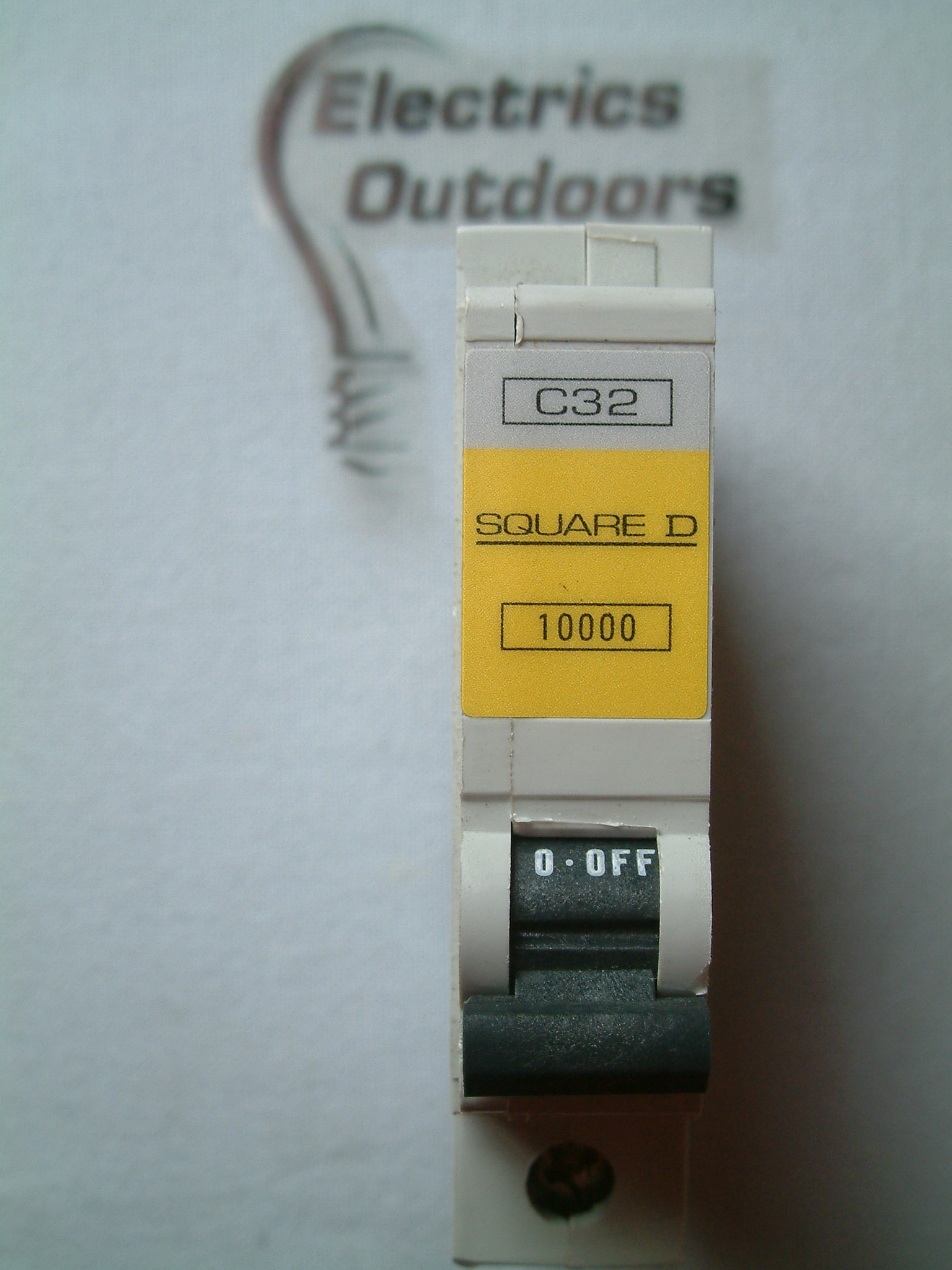 NEW SQUARE D QOE 32 AMP TYPE C 10 KA MCB CIRCUIT BREAKER 10000 R