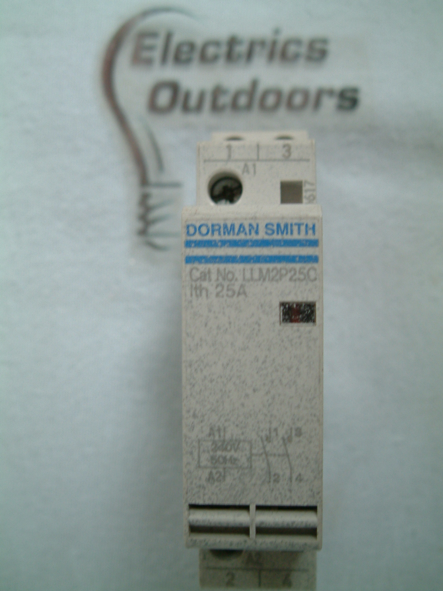 DORMAN SMITH 25 AMP 240V 50 Hz CONTACTOR DOUBLE 2 POLE AC7A LLM2