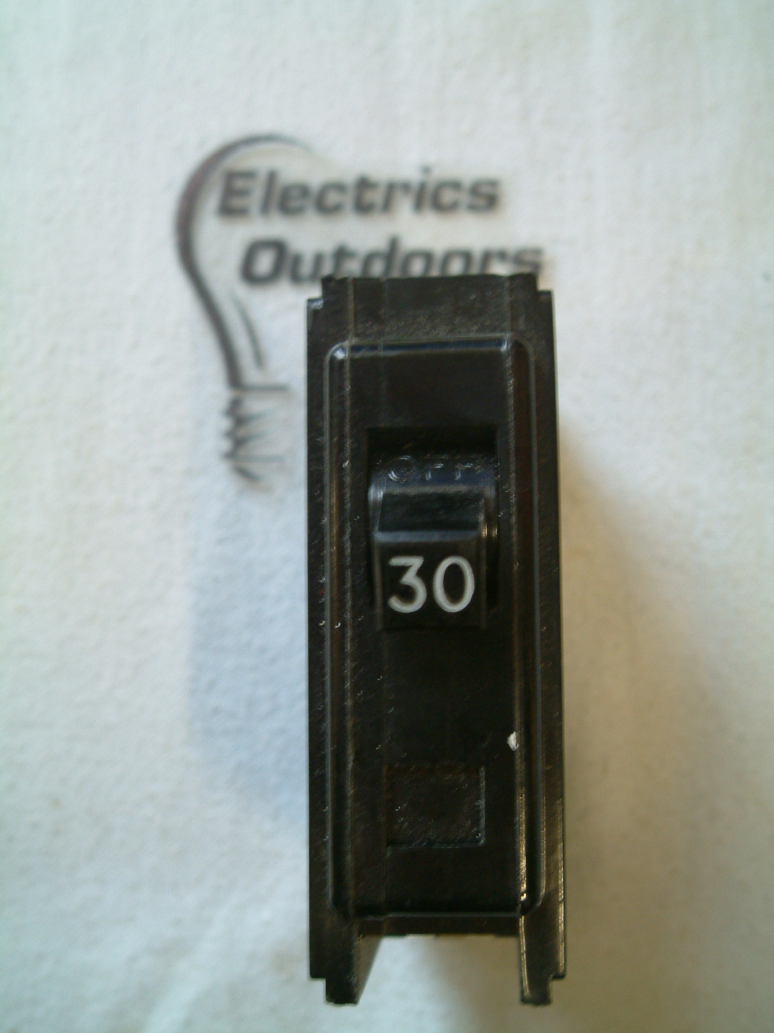 WESTINGHOUSE QUICKLAG 30 AMP MCB CIRCUIT BREAKER SINGLE POLE OLD
