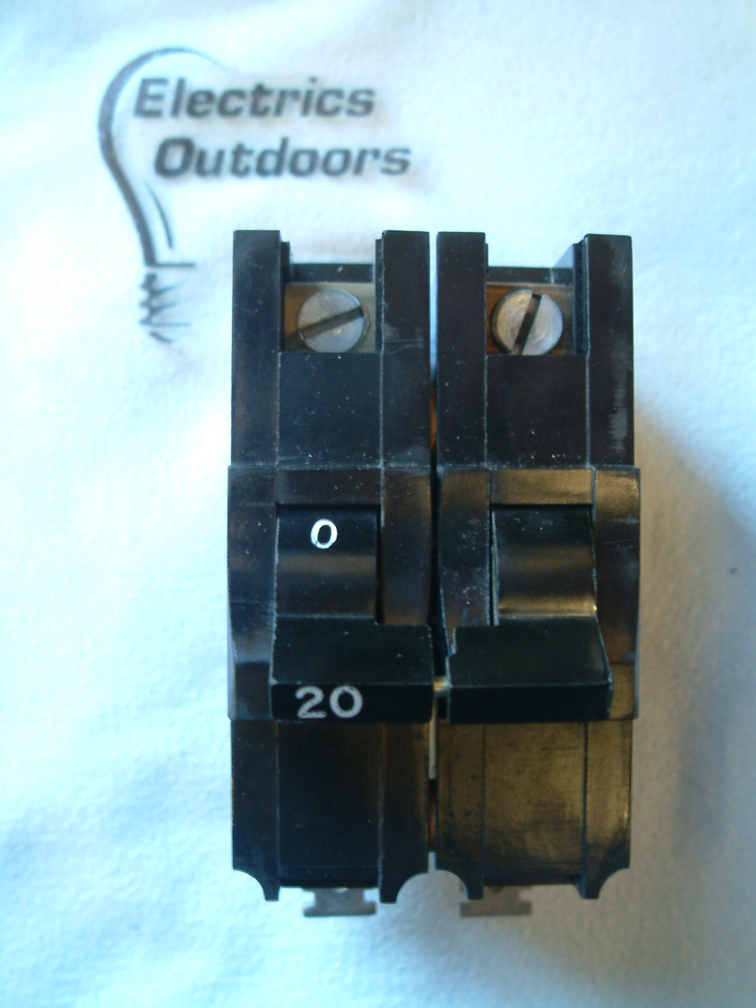 FEDERAL ELECTRIC 20 AMP DOUBLE POLE MCB CIRCUIT BREAKER 240/415V