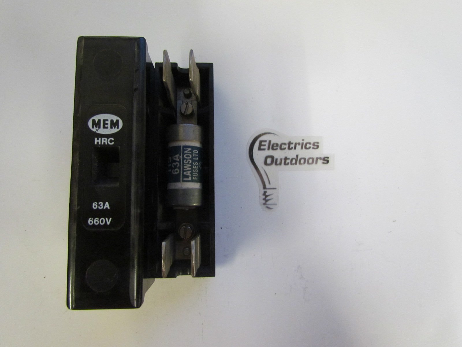 MEM BILL 63 AMP 660 V HRC FUSE CARRIER WITH 3408 Item Condition USED Sorry We Currently Have No Stock