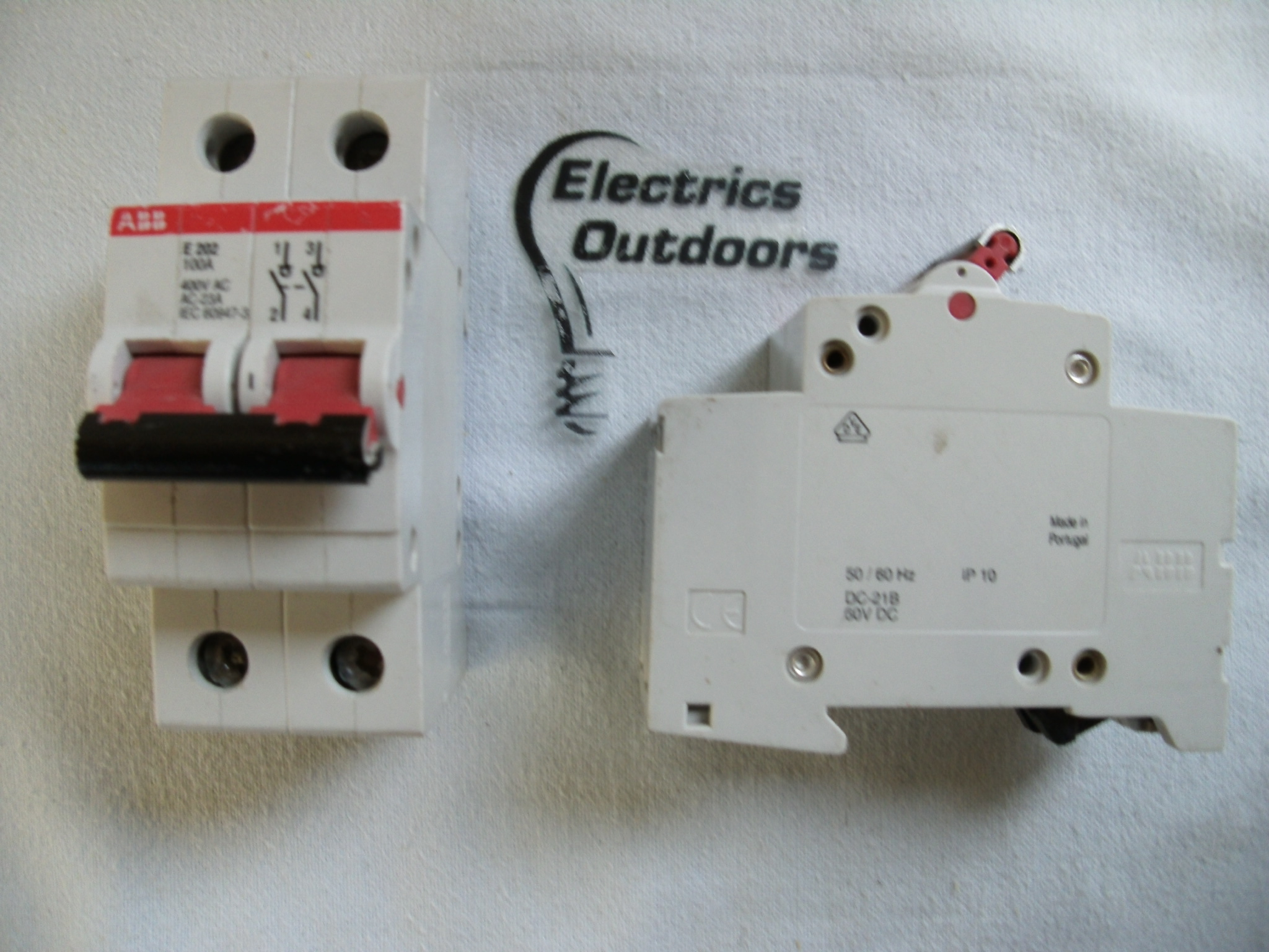 ABB 100 AMP MAIN SWITCH DISCONNECTOR 400V E202 IDC-21B EC 60947