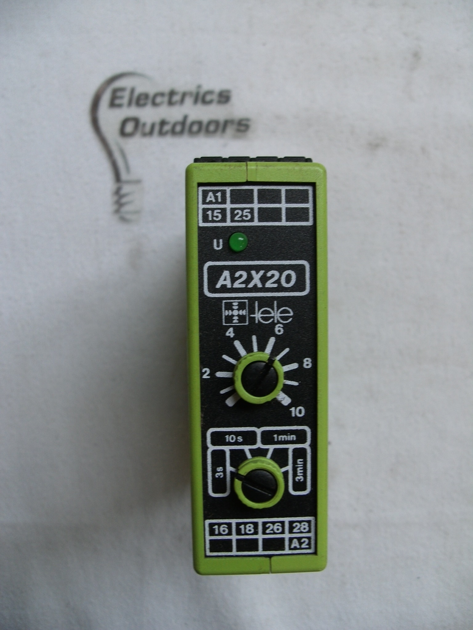 Tele Timer 3 Seconds Mins A2x20 Tr2 240v Other Circuit Breaker With 4827 Item Condition Used Sorry We Currently Have No Stock