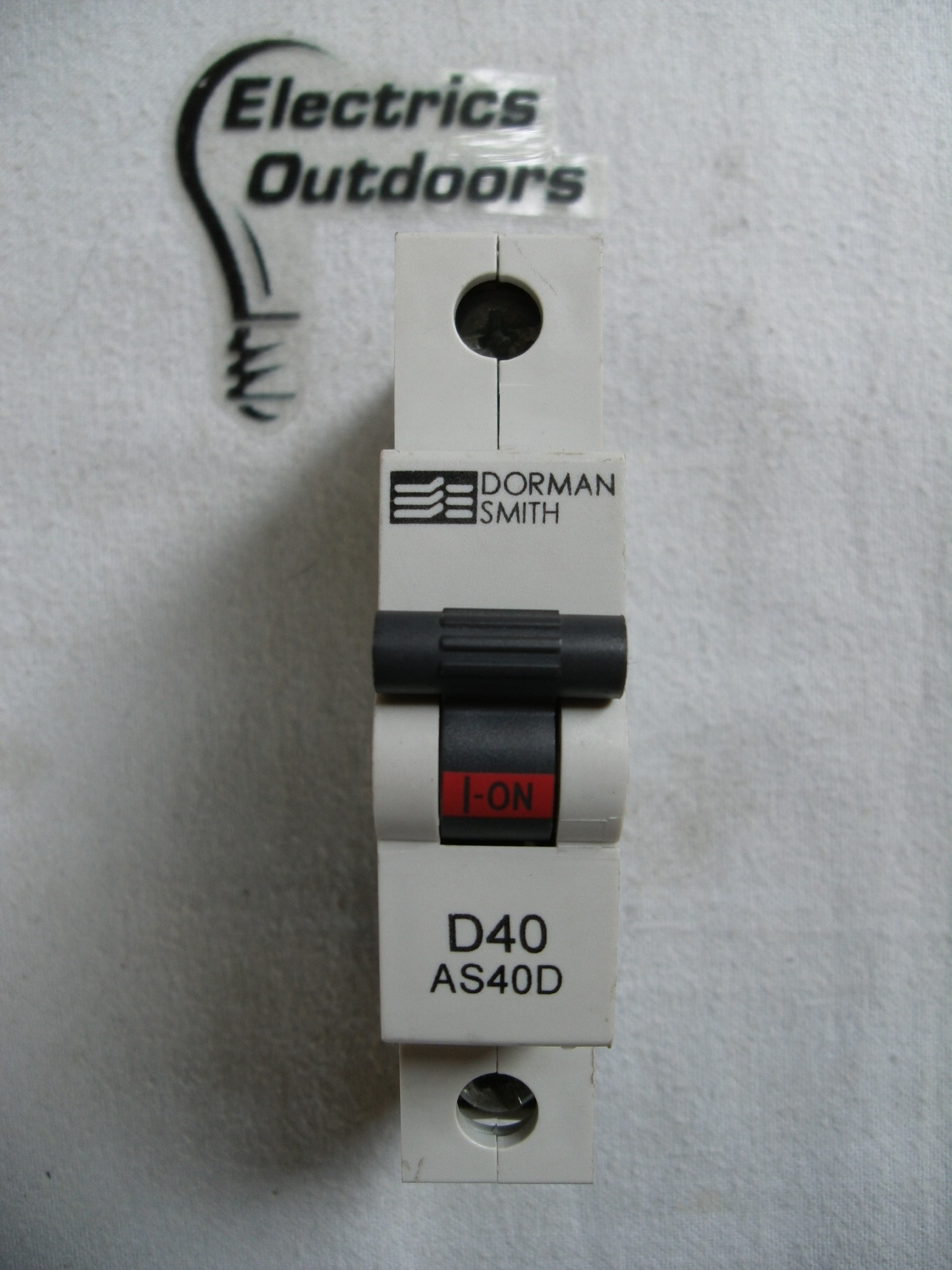 DORMAN SMITH 40 AMP TYPE D 6 kA MCB CIRCUIT BREAKER 230/400V AS40D BS EN 60898