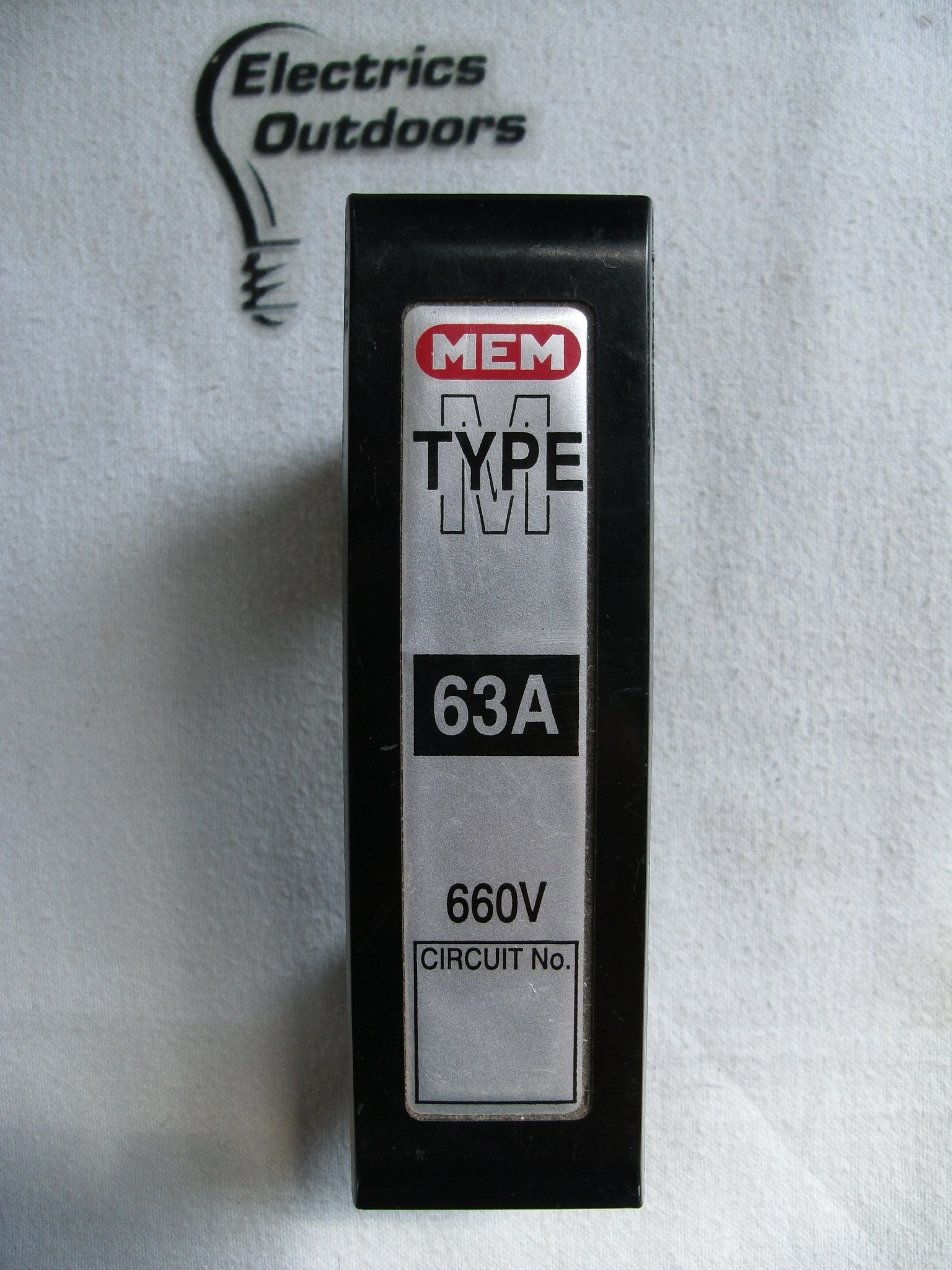 MEM 63 AMP FUSE HOLDER CARRIER 660V TYPE M BS 88 5071 Item Condition USED Sorry We Currently Have No Stock