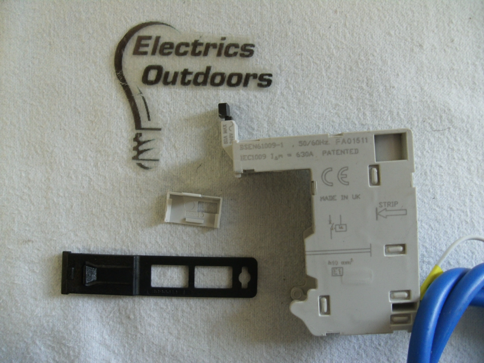 EATON MR30 FIELD FIT RCD RCBO POD FOR EATON MCB 30 mA 63 AMP MAX