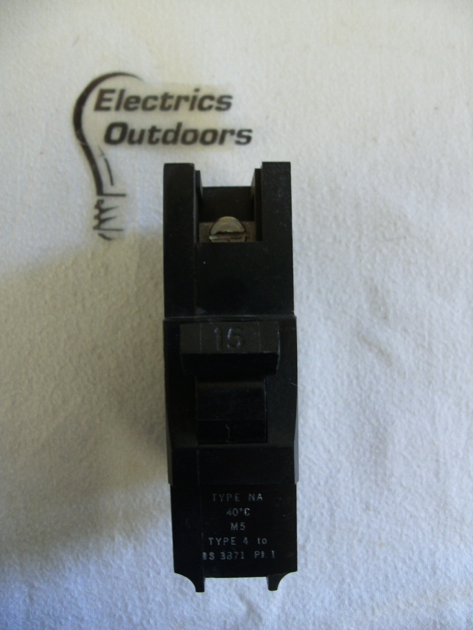 FEDERAL ELECTRIC 15 AMP TYPE 4 M5 MCB CIRCUIT BREAKER 415V STABLOK NA BS 3871