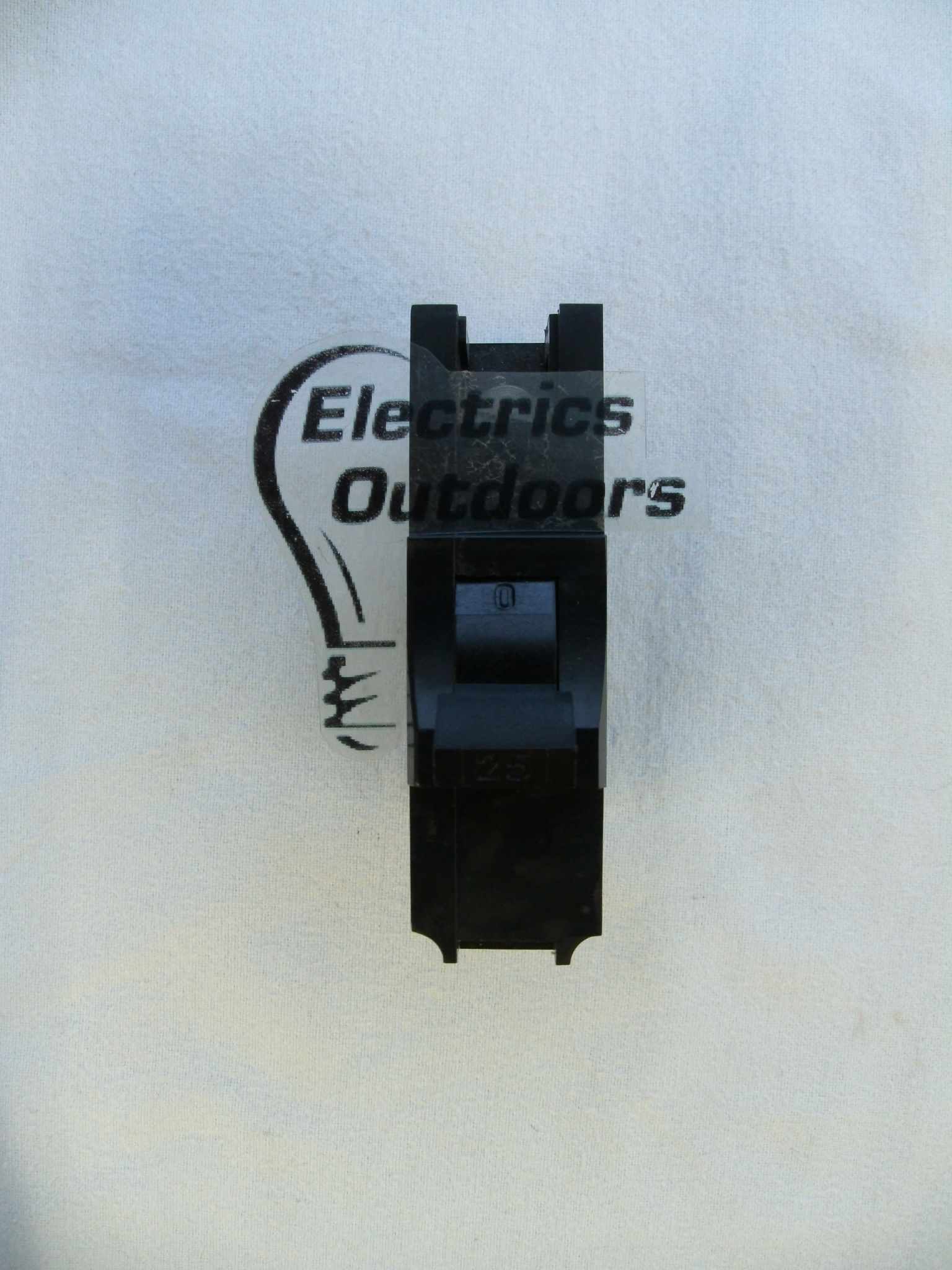 FEDERAL ELECTRIC 25 AMP MCB CIRCUIT BREAKER STAB-LOK