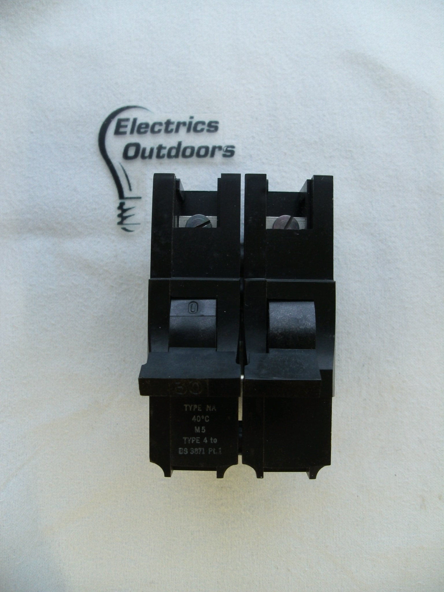 FEDERAL 30 AMP TYPE 4 M5 DOUBLE POLE MCB CIRCUIT BREAKER STABLOK NA NA2P30