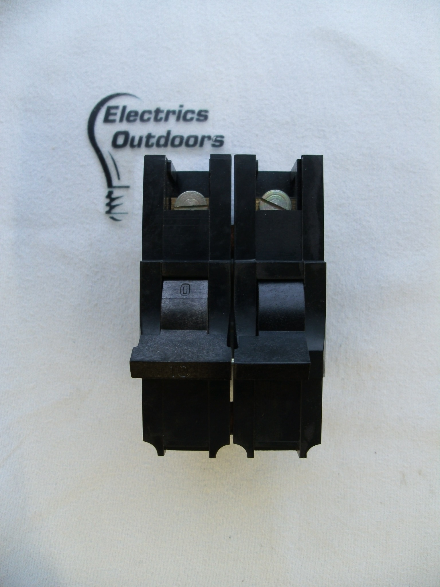 FEDERAL ELECTRIC 10 AMP DOUBLE POLE MCB CIRCUIT BREAKER STABLOK NA NA2P10