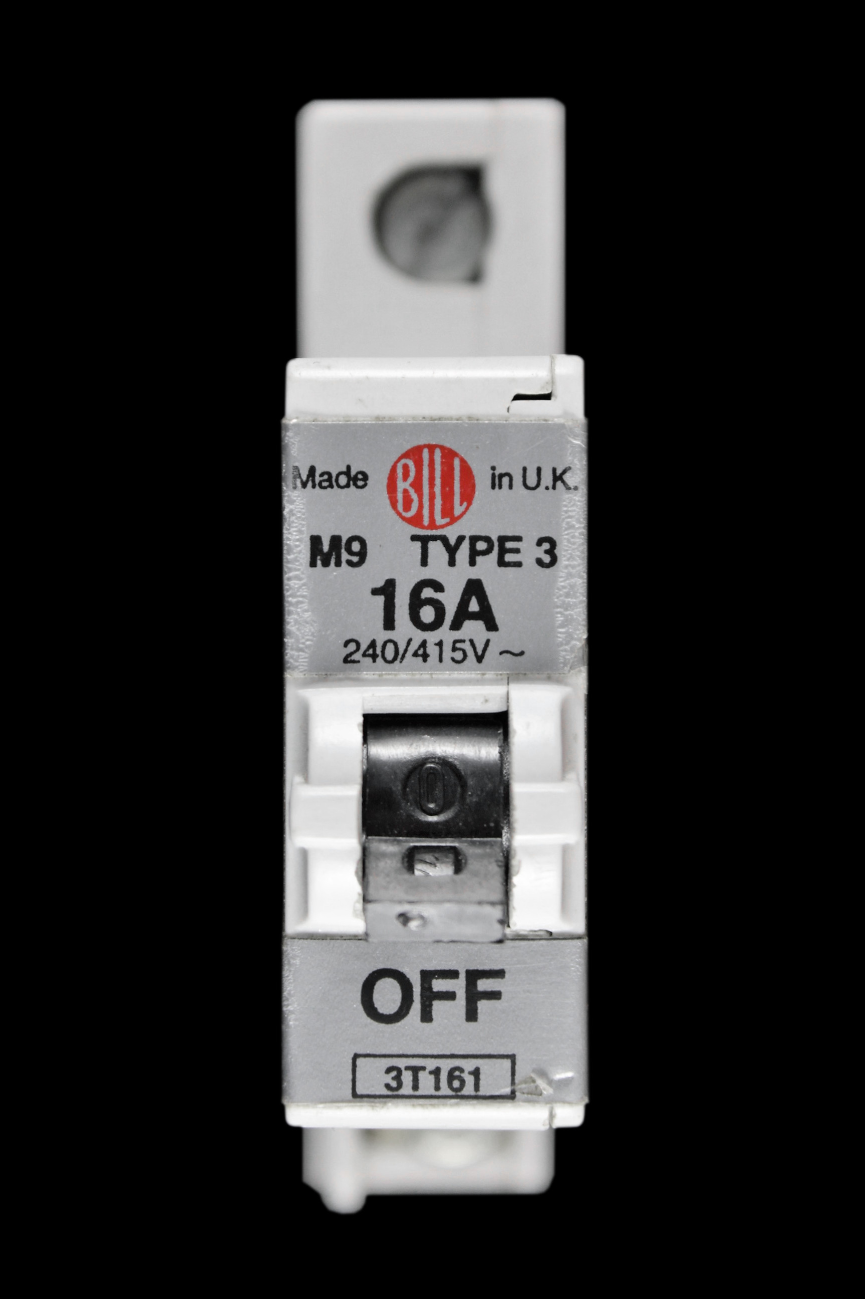 BILL 16 AMP TYPE 3 M9 MCB CIRCUIT BREAKER 3T161