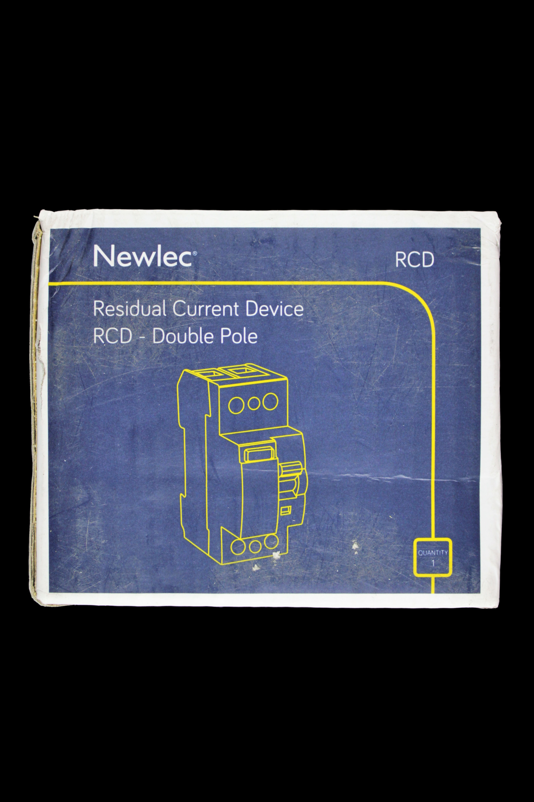 NEWLEC 80 AMP 100mA DOUBLE POLE RCD NLRCD80100AA - NEWLEC - Circuit on