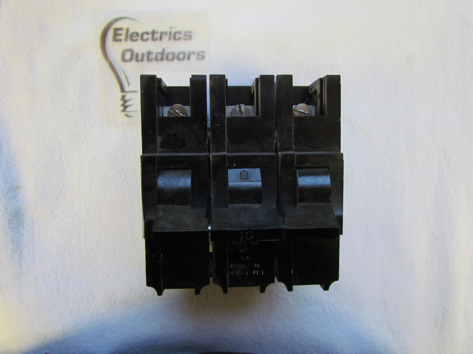 FEDERAL ELECTRIC 10 AMP TYPE 4 M5 TRIPLE POLE MCB CIRCUIT BREAKER STABLOK NA