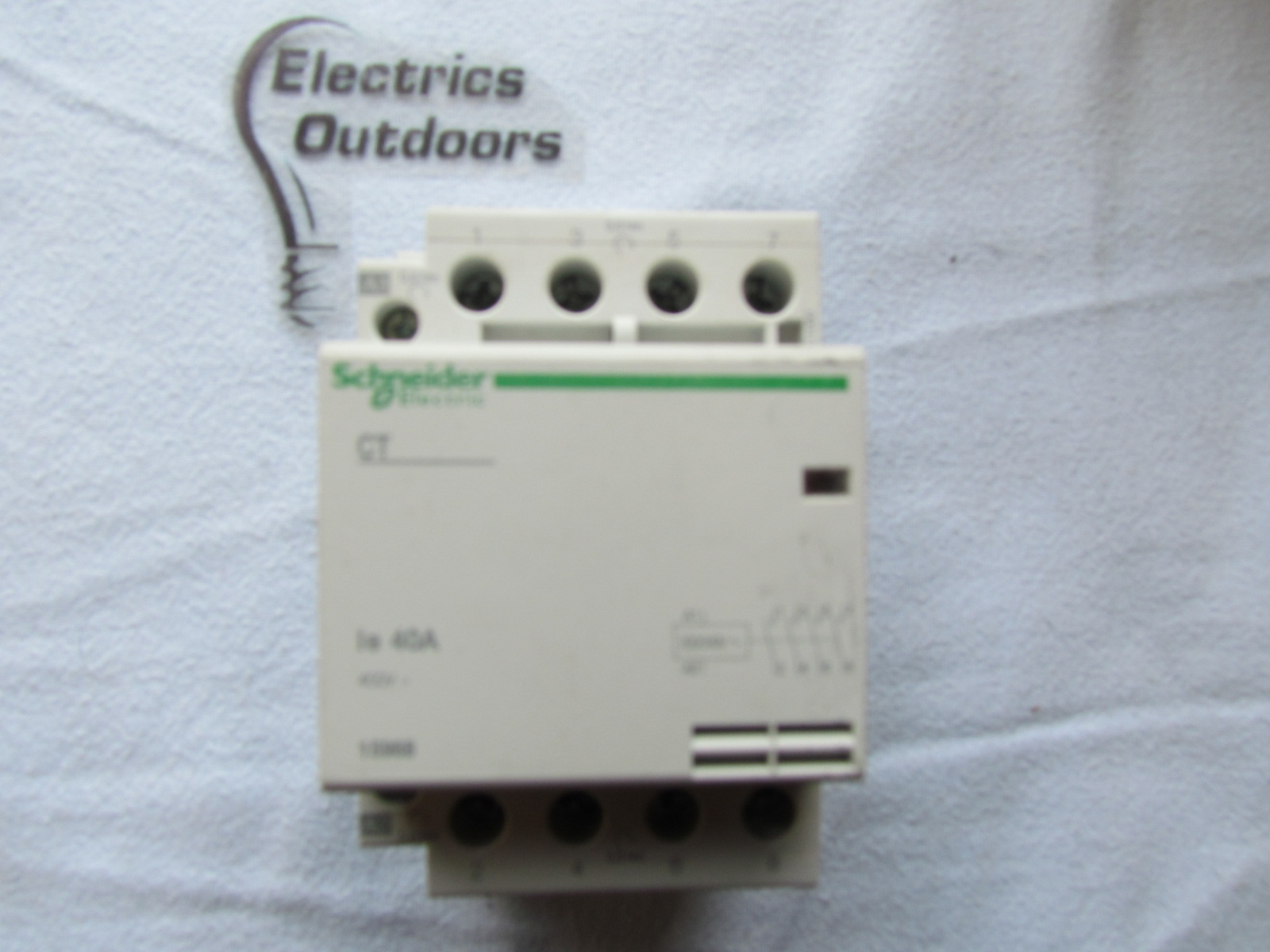 SCHNEIDER ELECTRIC 40 AMP CT CONTACTOR 4 POLE NORMALLY OPEN 400